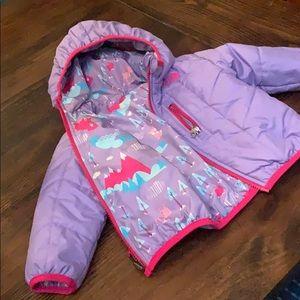 Reversible NorthFace puffer jacket